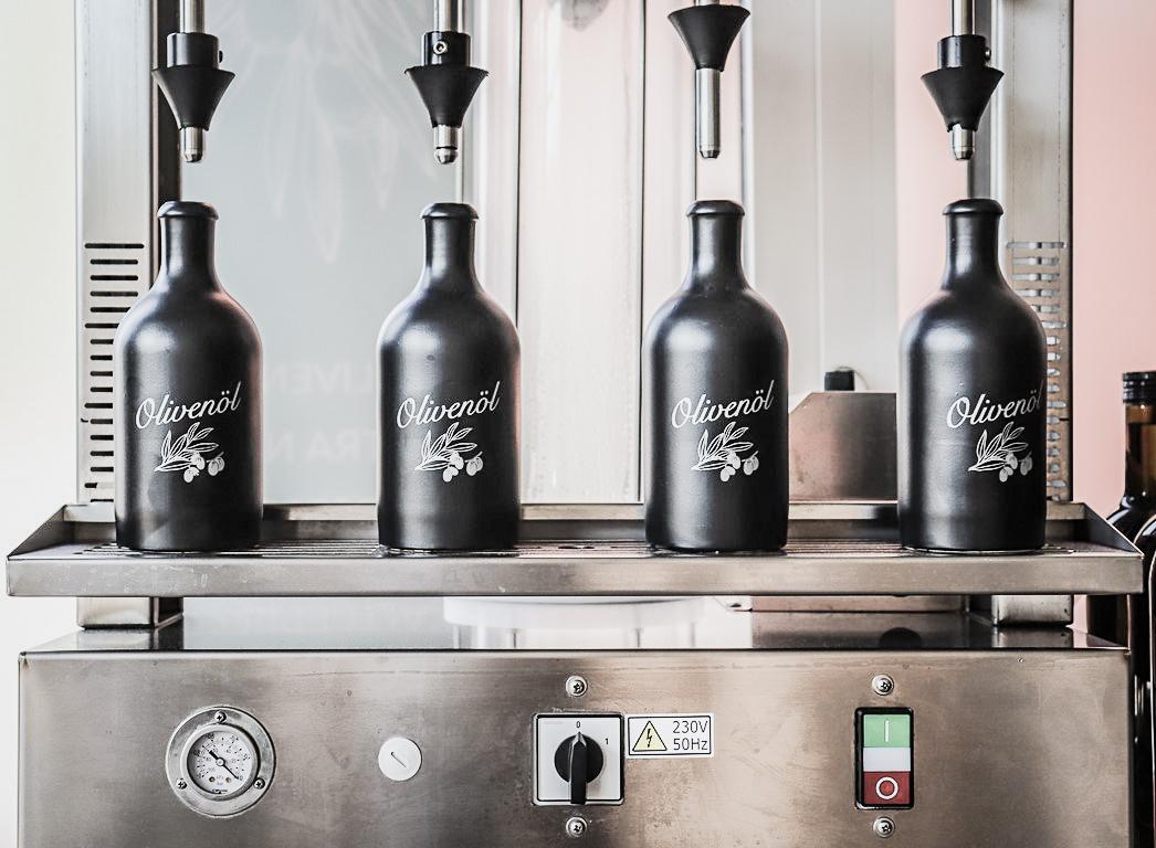 Abfüllung von Olivenöl | Der Olivenbauer
